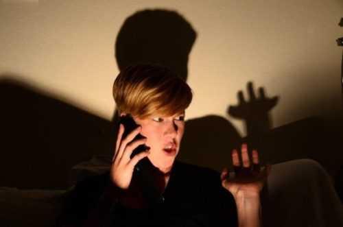 призрак из телефона