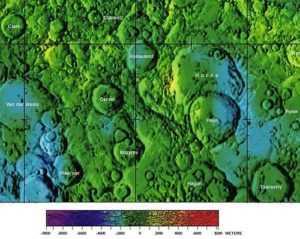 кратер козырева