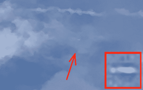 UFO Caught In Three Photo Traveling Through Storm Clouds